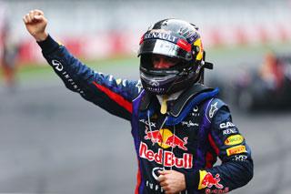 Vettel : dans l'histoire mais pas encore dans la légende