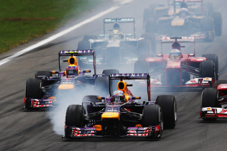© Getty - Vettel en a mis plein les yeux à ses rivaux