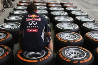 © Getty Images - Red Bull va devoir se contenter de nouvelles gommes dures