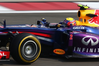 Webber partira en fond de grille à Shanghai