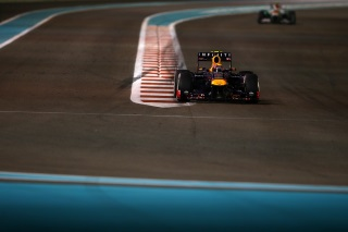 © Getty - Webber a tiré son épingle du jeu à Abu Dhabi