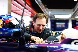 © Getty Images - Christian Horner tolérant envers Sebastian Vettel
