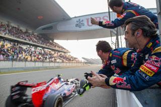© Getty - Toro Rosso glane de nouveaux points grâce à Ricciardo à Silverstone