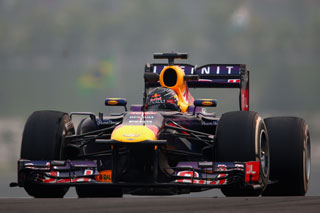 © Getty - Vettel presque seul au monde ce samedi