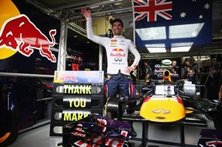 Mark Webber a fait ses adieux à la F1 !