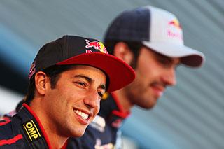 © Getty - Daniel Ricciardo mène une séance d'essais à zéro contre Jean-Eric Vergne