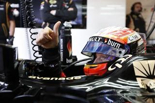 © LAT - Romain Grosjean veut aller chasser le taureau demain