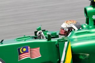 © LAT - Van der Garde satisfait de sa course à Sepang