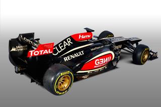 © LAT - Signe de son succès commercial, l'E21 de Lotus dispose de nombreux stickers.