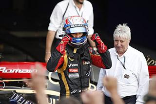 © LAT - Romain Grosjean retrouve le podium