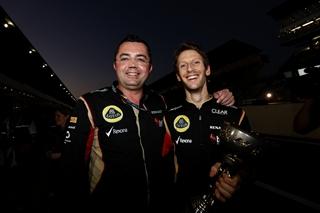 © LAT - Le Japon sourit à Romain Grosjean et Lotus
