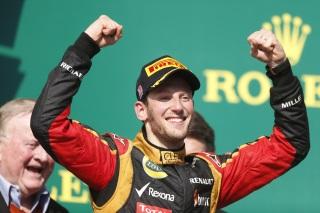 © LAT - Grosjean est-il également 2ème dans notre classement ?