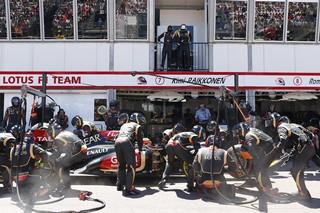 © LAT - Räikkönen a été confronté à des problèmes de freins à Spa
