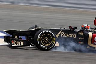 © LAT - Quelques problèmes de pneus pour Räikkönen