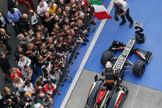 © LAT - Romain Grosjean vise un autre podium ce week-end