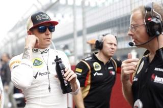 © LAT / Lotus : On ne reverra pas Kimi Räikkönen avant 2014.