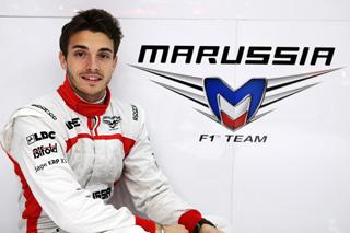 © Lat - Une saison de plus pour Bianchi chez Marussia !