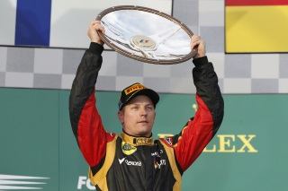 © Lotus - Première course et première victoire pour Räikkönen !