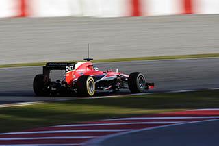 © Marussia - Chilton termine derrière Bianchi