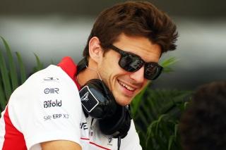© Marussia - Jules Bianchi a répondu à nos questions à Silverstone