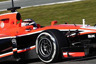 © Marussia - Chilton a connu une journée de découverte sans soucis