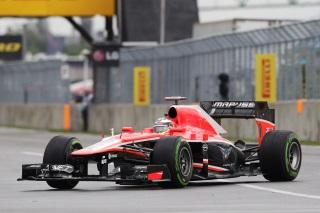 © Marussia - Bianchi n'a pu lutter face à la Caterham de Pic