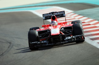 © Marussia - Bianchi a souffert en course