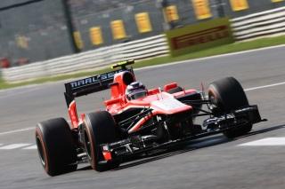 © Marussia - Chilton a roulé avec plus d'essence que prévu lors des qualifications !