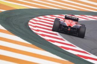 © Marussia - Chilton a souffert en qualifications