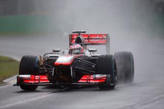 © McLaren - La pluie ne dérangerait pas McLaren, au contraire