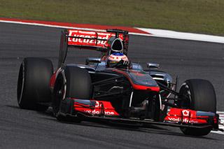 © McLaren - Jenson Button a été ralenti en Q2