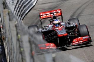 © McLaren - Button content de sa course monégasque