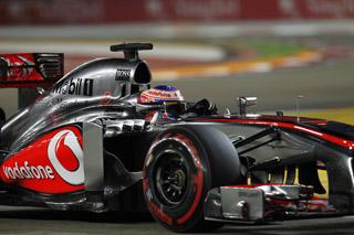 © McLaren - Jenson Button aurait pu finir sur le podium de Singapour