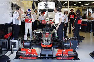 © McLaren - Les choses semblent s'améliorer dans le garage McLaren