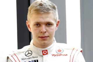 © McLaren - A 21 ans, Magnussen entre dans la cour des grands !