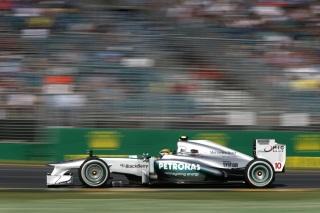 © Mercedes - Hamilton satisfait après sa première course avec Mercedes à Melbourne