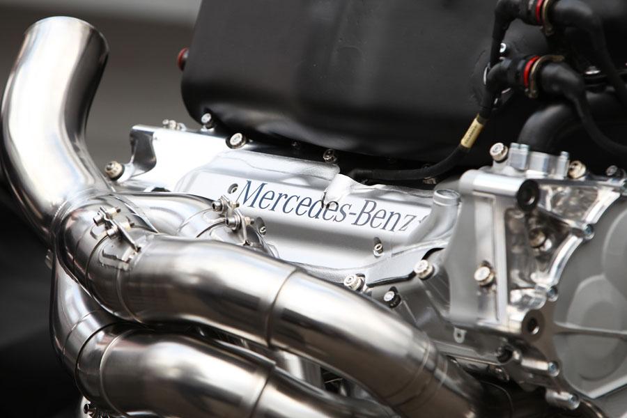 L'envolée du moteur V8