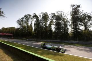 © Mercedes - Hamilton a vécu une course compliquée