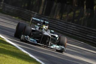 © Mercedes - Rosberg a fait de son mieux lors des qualifications après avoir manqué les libres 3