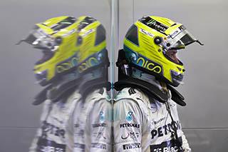 © Mercedes - Rosberg sans faute
