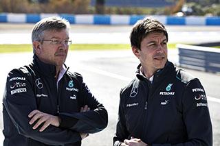 © Mercedes AMG - Ross Brawn va être remplacé par Toto Wolff