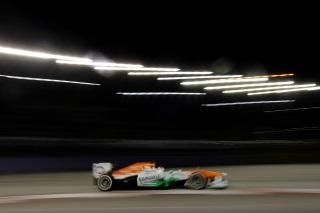 © Pirelli - di Resta a été sorti dès Q1 à Singapour !