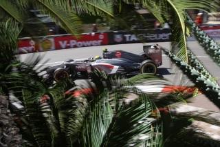 © Sauber - Gutierrez découvrait Monaco au volant d'une F1