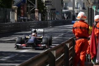 © Sauber - Zéro pointé pour Sauber à Monaco