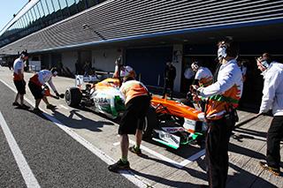 © Sutton - Di Resta et Rossiter se sont relayés chez Force India