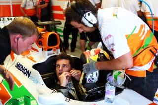 © Sutton - James Calado bientôt régulièrement à bord de la Force India ?