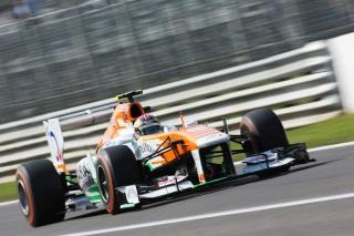 © Sutton - Di Resta a su dompter sa Force India à Suzuka