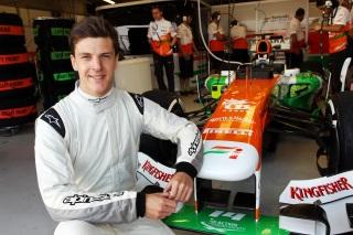 © Sutton - James Calado a mis un premier pied en F1