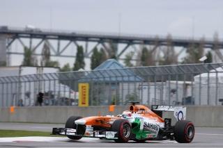 © Sutton - Di Resta fer de lance de la remontée de Force India à Montréal