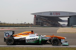 © Sutton - Di Resta place sa Force India dans les points à Shanghai